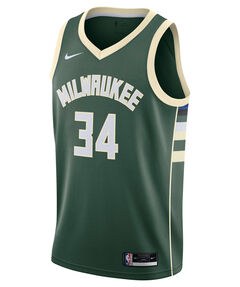 "Herren Basketballtrikot ""Giannis Antetokounmpo Milwaukee Bucks Icon Edition 2020"""