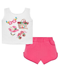 Mädchen Baby Set  Shorts und Top