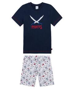 Jungen Kleinkind Pyjama Kurz