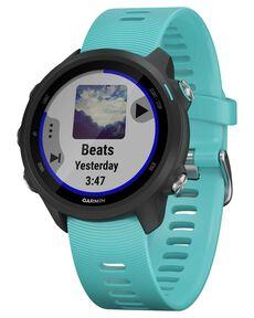 "GPS-Laufuhr ""Forerunner 245 Music"" blaues Armband"
