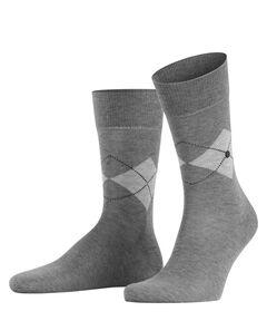 "Herren Socken ""Black Argyle"""