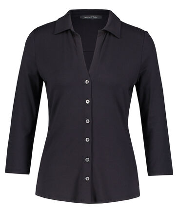 Marc O'Polo - Damen Jerseybluse 3/4 Arm
