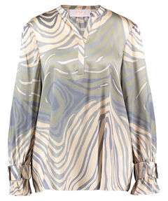 "Damen Tunikabluse ""Zebra"" Loose Fit Langarm"