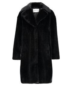 "Damen Webpelzmantel ""Camille Cocoon Coat"""