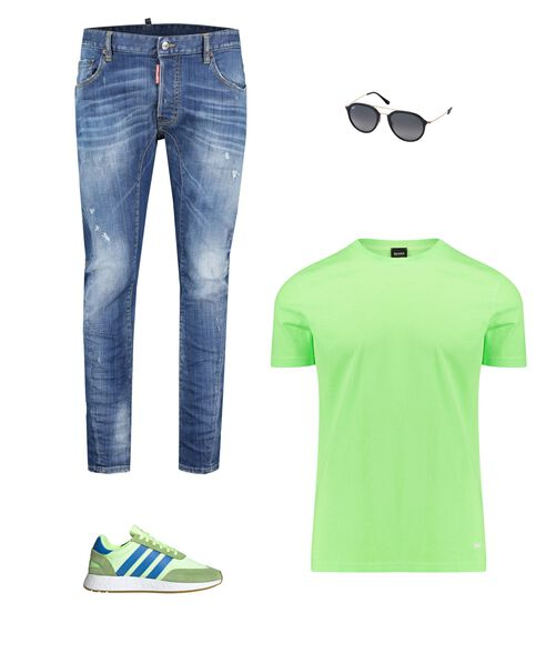 Outfit - Neon Green