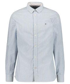 "Herren Hemd ""Organic Oxford Stripe"" Regular Fit Langarm"