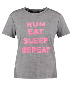 "Damen Running Shirt Kurzarm ""Run, eat, sleep, repeat WMNS Miler"""