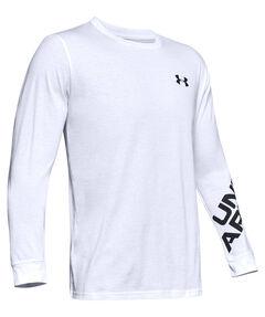 """Herren Shirt """"UA Wordmark Sleeve LS-BLK"""" Langarm"""