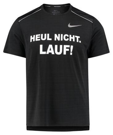 "Nike - Herren Laufshirt ""Heul nicht, lauf"" Kurzarm"
