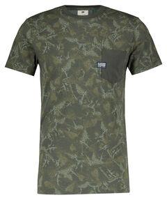 "Herren T-Shirt ""Thistle AOP Pocket"""