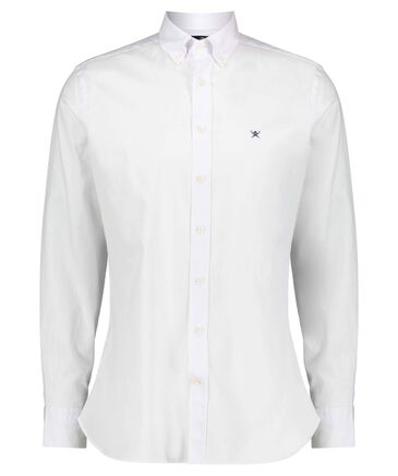 Hackett London - Herren Hemd Slim Fit Langarm