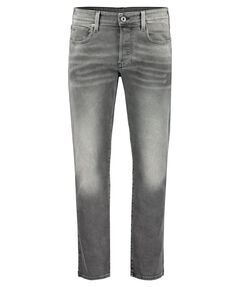 "Herren Jeans ""3301 Straight Antic Charcoal"" Regular Fit"