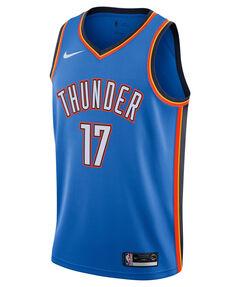 "Herren Basketballtrikot ""Dennis Schröder Icon Edition Swingman (Oklahoma City Thunder)"" Ärmellos"
