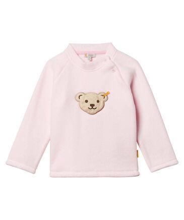 Steiff - Mädchen und Jungen Baby und Kinder Fleece-Sweatshirt Langarm