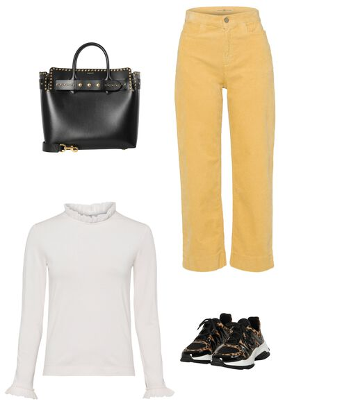 Outfit - Cord Culotte