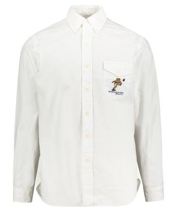 Ralph Lauren - Herren Hemd Custom Fit Langarm