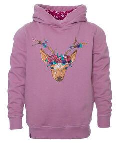 Mädchen Kleinkind Sweatshirt mit Kapuze