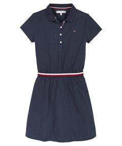 """Mädchen Jerseykleid """"Global Stripe Polo Dress"""""""