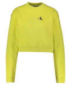 "Damen Sweatshirt ""Monogram Cropped"" Langarm verkürzt"
