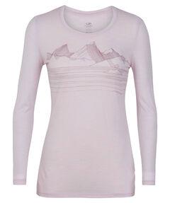 """Damen Outdoor-Shirt """"Tech Lite LS Low Crewe"""" Langarm"""