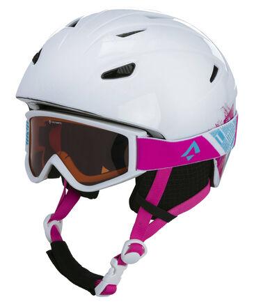 """Tecno Pro - Kinder Skihelm """"Pulse HS-016"""" mit Skibrille """"Freeze 2"""""""