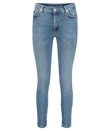7 for all mankind - Damen Jeans Skinny Fit