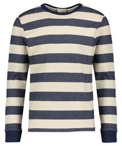 """Herren Sweatshirt """"Slhdylan Stripe Crew Neck Sweat W"""""""