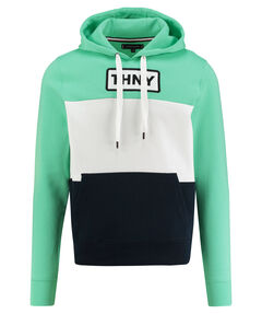 "Herren Sweatshirt ""Pieces Colorblock Slogan"""