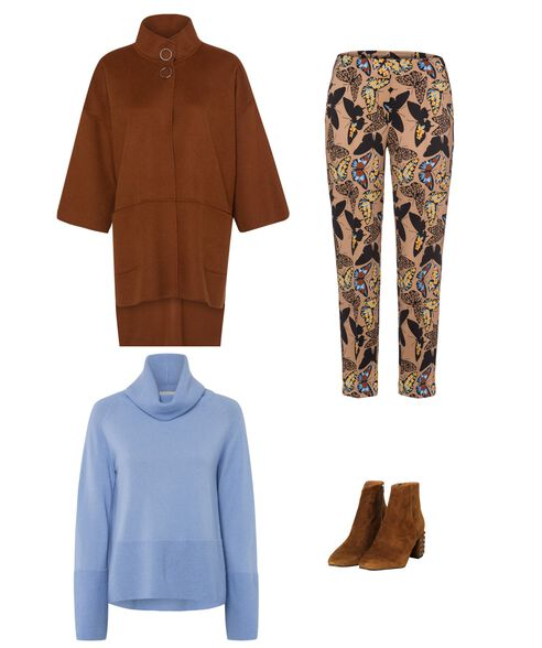 Outfit - Butterfly Print