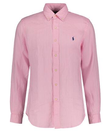 Polo Ralph Lauren - Herren Leinenhemd Custom Fit Langarm