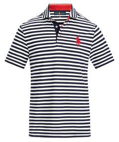 "Herren Poloshirt ""Justin Thomas"" Kurzarm Custom Slim Fit"