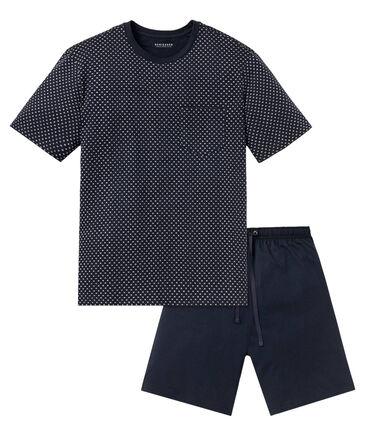 Schiesser - Herren Schlafanzug kurz zweiteilig