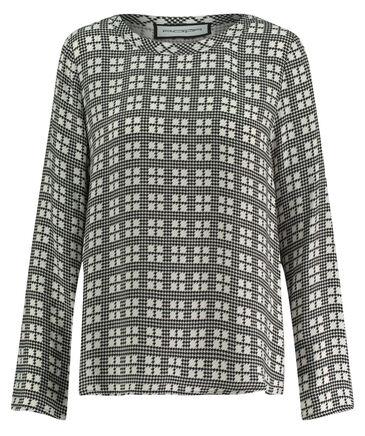 Roqa - Damen Bluse Comfort Fit Langarm