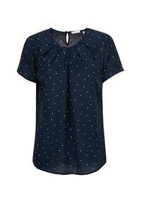 Damen Bluse Regular Fit Kurzarm