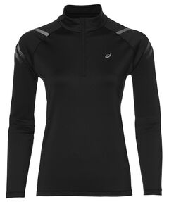 "Damen Laufshirt ""Icon Winter 1/2 Zip"" Langarm"