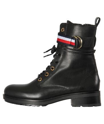 "Tommy Hilfiger - Damen Boots ""Corporate Ribbon Bikerboot"""
