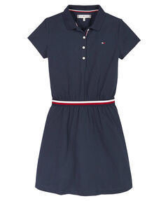 "Mädchen Jerseykleid ""Global Stripe Polo Dress"""