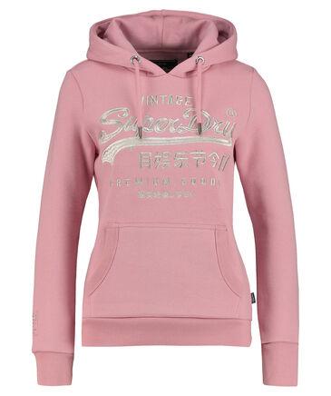 "Superdry - Damen Sweatshirt mit Kapuze ""Premium Goods Luxe EMB Entry """