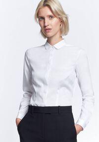 Damen Hemdbluse Slim Fit Langarm