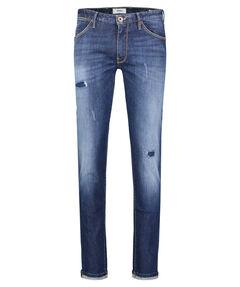 """Herren Jeans """"Swing Midblue Broken Denim"""" Superslim Fit"""