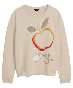 """Damen Sweatshirt """"Appel Print"""""""