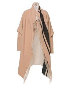 "Damen Mantel ""Fringy Volume Coat"""