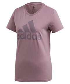 """Damen T-Shirt """"Must Haves Badge Of Sport"""" Kurzarm"""