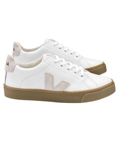"Kinder Sneaker ""Esplar Extra White Natural Sole"""