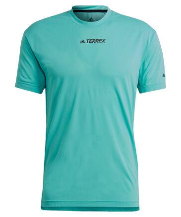 """adidas Terrex - Herren Laufshirt """"Parley Agravic Trail Running All-Around Tee"""" Kurzarm"""