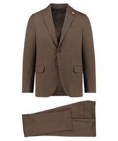 Herren Anzug Dreiteilig Slim Fit