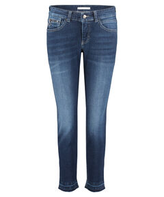 Damen Jeans Straight Fit Slim Leg 7/8-Länge