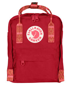 "Rucksack ""Kanken Mini"" deep red-folk patt"