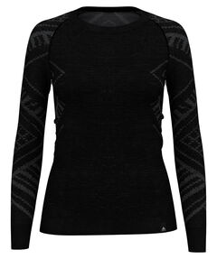 "Damen Funktionsunterhemd ""SUW Top Crewe L/S natural + Kinship Warm"" Langarm"