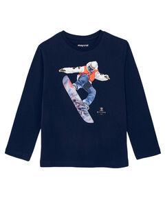 """Jungen Shirt Langarm """"Snowboardfahrer"""""""